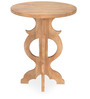Luisa Center Table in Light Brown Finish by @ Home