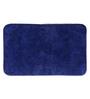 Lushomes Blue Cotton 20 x 32 Bath Mat