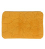 Lushomes Yellow Cotton 16 x 24 Bath Mat
