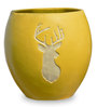 Maan Planter in Yellow Colour by Greymode
