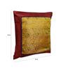 Me Sleep Multicolor Brocade 16 x 16 Inch Paisley Cushion Covers Combo - Set of 3