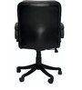 Morris Ergonomic Medium Back Chair in Black Color By VJ Interior