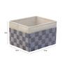 My Gift Booth Grey 10 L Storage Box