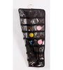 My Gift Booth Non-Woven & PVC Black Jewellery Organiser