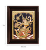 Myangadi Multicolour Gold Plated Indonesia Sita Framed Tanjore Painting