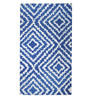 Nagadzina Area Rug 91 x 63 Inch in Blue by Amberville