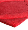 Nager Area Rug 91 x 63 Inch in Red by Amberville