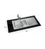 Neelkanth Ellysse Dx Glossy Stainless Steel Double Bowl Sink with Drainer