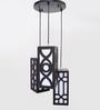 So Paulo Pendant in Black by CasaCraft