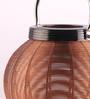 Ni Decor Brown Metal Decorative Lantern Candle Holder