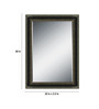 Nike Minimalist Mirrors in Black by CasaCraft