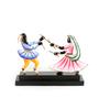 Olha-O Multicolour Wood & Wrought Iron Garbha-2 Figurine