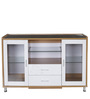 Olive Cabinet in White & Maple Finish by Royal Oak