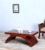 Omaha Coffee Table in Honey Oak Finish by Woodsworth