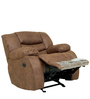 One Seater Motorized Recliner in Brown Colour by Star India