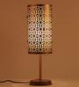 Orange Tree Black Iron Oscar Table Lamp