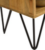 Oslo Solid Wood Entertainment Unit in Natural Finish by TheArmchair