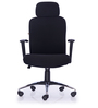 Oxford High Back Chair in Black Colour by Durian