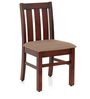 Parson Set of 2 Dining Chair in Semi-Glossy Walnut Finish by JFA Touchwood