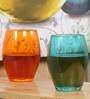 Pasabahce Workshop Glass Sets Set Monte Carlo 4 Colors- (6*Pink, Green, Blue, Orange)