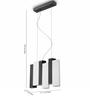 Philips White & Black  Aluminium Pendant