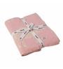 Pluchi Nursery Sheep Pink Cotton 39 x 31 Inch Single Blanket