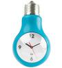PT Bue ABS 14 x 7 Inch Bulb Wall Clock