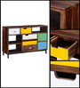 Kelis Sideboard in Multi-Color Finish by Bohemiana