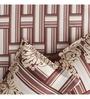 Rago Brown Poly Cotton Queen Size Bedsheet - Set of 3