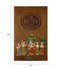 Rajrang Paper 9 x 14 Inch Lord Radha Krishna Enticing Unframed Painting