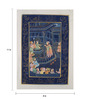 Rajrang Silk 8 x 11 Inch Traditional Unframed Painting