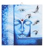 Rang Rage Canvas 16 x 2 x 16 Inch Hand-painted Lord Stretched Framed Painting