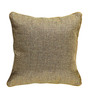 Rang Rage Beige Jute 16 x 16 Inch Handcraft Cushion Covers - Set of 2