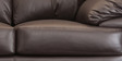Rivera Three Seater Sofa in Brown Colour by Durian