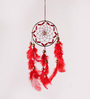 Rooh Multicolour Wool Crafty Car Hanging Dream Catcher