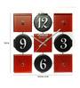 Safal Quartz Square MDF 12.5x 12.5 x 2 Inch Wall Clock