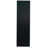 Michi Two Door Sliding Wardrobe in Solid Black and Columbia Finish by Mintwud