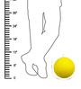 Salebrations Yellow Yarn Pendant