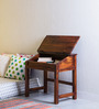 Dakota Study Table in Honey Oak Finish by Woodsworth