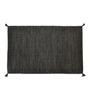 Shahenaz Home Shop Grey Cotton 36 x 60 Inch Melange Dhurrie