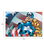 Shop Mantra Paper 19 x 13 Inch Female Captain America Unframed Laminated Poster