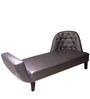 Simplistic Settee in Leatherette by Phinza Furniture