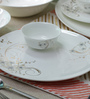 Sivica Premium Bone china Dinner Set - Set of 34 (HL0869)