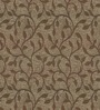 Skipper Brown Viscose Floral Window Curtain
