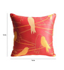 Skipper Red Polyester 16 x 16 Inch Cushion Cover