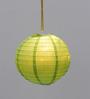 Skycandle Green Paper Paper Lantern