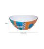 Soyo Orange Ceramic Basin