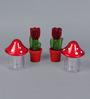 Herevin Spicy Mushroom Spice Shaker Set Of 4