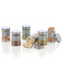 Steelo Round 200 ML PET Container - Set of 6