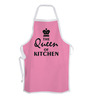 Stybuzz The Queen of Kitchen Pink Cotton Kitchen Aprons